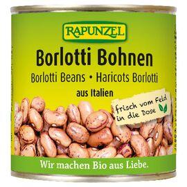 Rapunzel Bio Borlotti Bohnen in der Dose (400g)