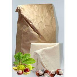 NaturGut Rosskastanien-Granulat für Waschmittel (1kg, inkl. Baumwoll-Waschbeutel)