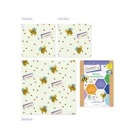 beeskin Bienenwachstücher Kids Set (3 Stück)