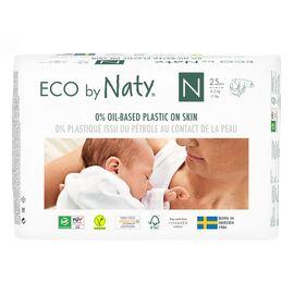 ECO by Naty Ökowindeln (Gr. 0, 25Stück)
