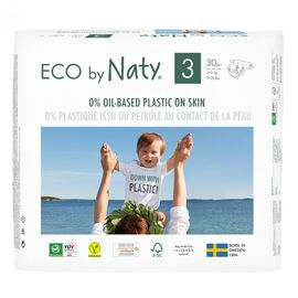 ECO by Naty Ökowindeln (Gr. 3, 30Stück)