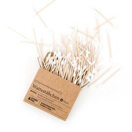 Hydrophil Bambus Wattestäbchen (100 Stück)