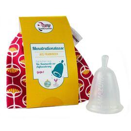 Lamazuna Menstruationstasse (pink, Gr. 1)