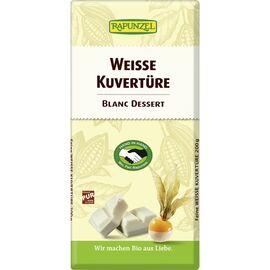 Rapunzel Kuvertüre Schokolade Bio (weiß, 200g)