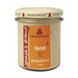 Zwergenwiese streich's drauf Bio Sendi (Senf/Dill, 160g)
