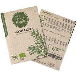 """Little Plants Bio Rosmarinsamen """"Rosmarinus officinalis"""" (ca. 20 Pflanzen)"""