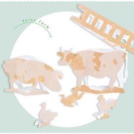 FairFox PAPPKA Bastelbogen Tiere klappbar