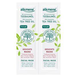 alkmene Teebaumöl Gesichtsmaske (2x6ml)