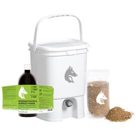 Bokashi Kompost Starter-Set Profi weiß