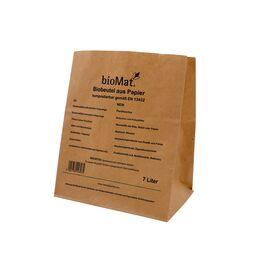 BIOMAT® Abfallbeutel aus Kraftpapier (7 Liter)