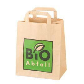 BIOMAT® Bioabfallbeutel aus Kraftpapier, mit Henkel (8 Liter)