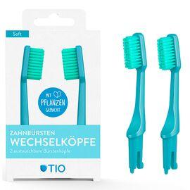 TIO - Zahnbürsten-Wechselköpfe (Gletscher, soft)