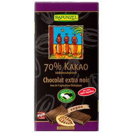 Rapunzel Edelbitter Schokolade 70% Kakao HIH (80g)