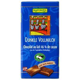 Rapunzel Vollmilch Schokolade Dunkel 46% HIH (100g)