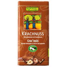 Rapunzel Krachnuss Vollmilch Schokolade Haselnuss HIH (100g)