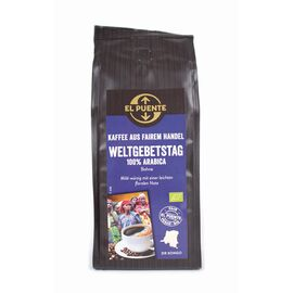 Bio-Kaffee zum Weltgebetstag (250g ganze Bohnen, kbA)