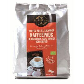 La Cortadora Bio-Kaffeepads (entkoffeiniert, 18 Pads Ø7cm, 126g)