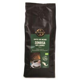 Sonrisa Bio-Kaffee (500g ganze Bohnen, kbA)