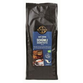 Schümli Bio-Kaffee im Aromaschutzbeutel (500g ganze Bohnen, kbA)