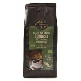 Sonrisa Bio-Kaffee (entkoffeiniert, 250g ganze Bohnen, kbA)