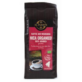 Nica organico Bio-Kaffee (250g gemahlen, kbA)