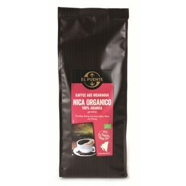 Nica organico Bio-Kaffee (500g gemahlen, kbA)