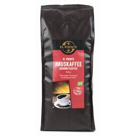 El Puente Hauskaffee Bio (500g ganze Bohnen, kbA)